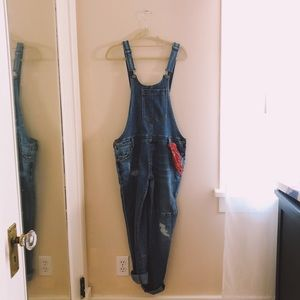 Anthropologie Denim Overalls